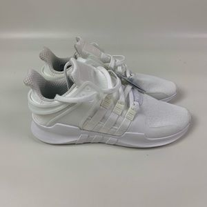 Adidas Mens EQT support triple white size 9 cp9558